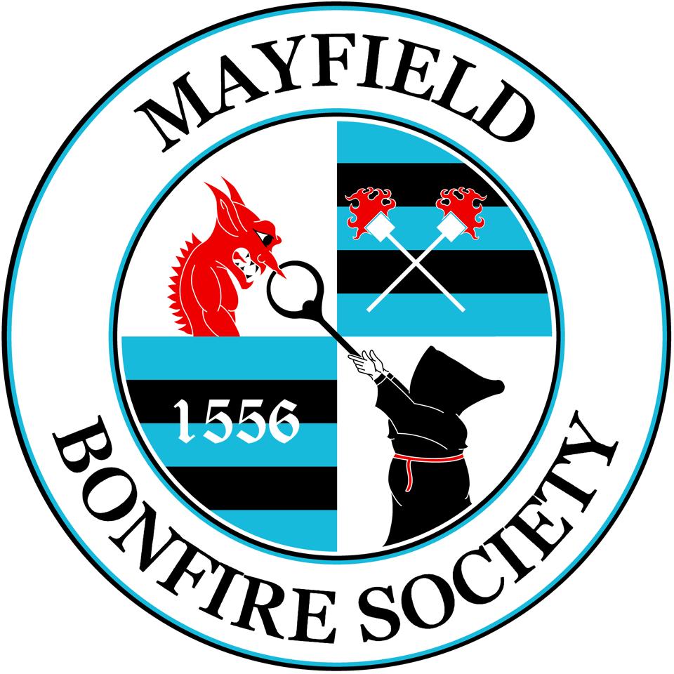 Mayfield Bonfire Society Logo _ Brady Ells _ with Flames